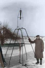 the first liquid-fuel rocket