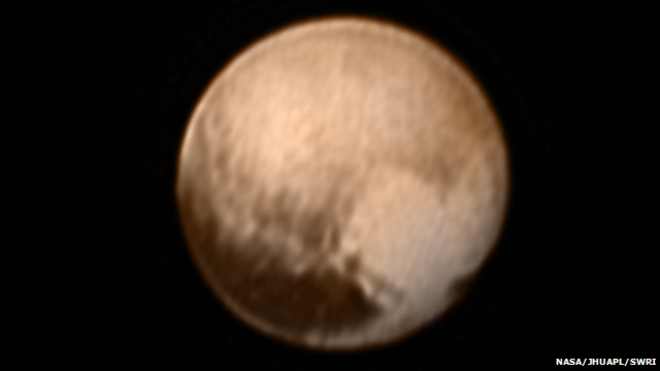 8 million miles from Pluto flyby
