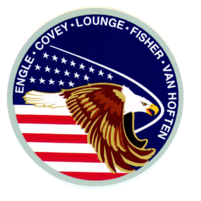 STS-51I Mission Patch