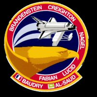 STS 51G Mission Patch
