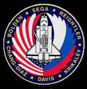 sts 60 mission patch